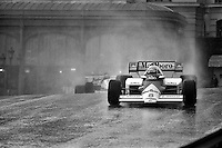 MONTE CARLO, MONACO - JUNE 3: Niki Lauda of Austria drives his McLaren MP4-2 3/TAG TTE PO1 during the Monaco Grand Prix FIA Formula 1 race on the Circuit de Monaco temporary street circuit in Monte Carlo, Monaco, on June 3, 1984.