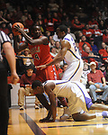 "Mississippi's Eniel Polynice (14) vs. LSU at the C.M. ""Tad"" Smith Coliseum on Thursday, March 4, 2010 in Oxford, Miss. Ole Miss won 72-59."