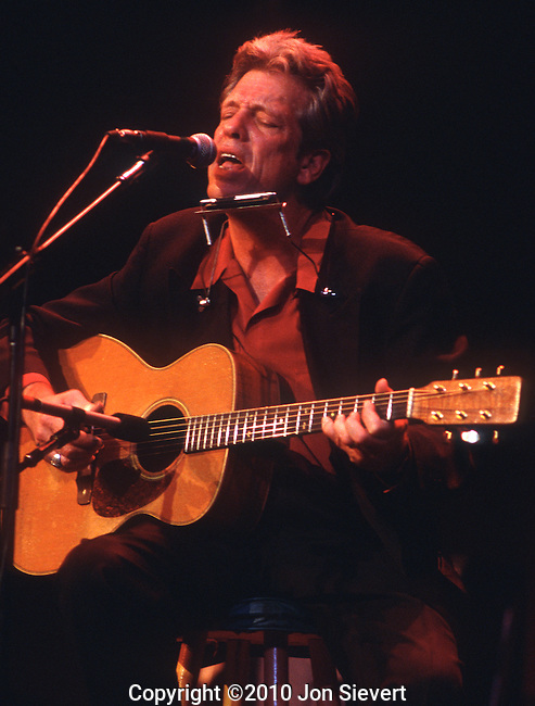 John Paul Hammond, Sept 1998. American blues guitarist and singer and son of the famed record producer and talent scout, John Hammond. Since 1962, when he made his debut on Vanguard Records, Hammond has made thirty four albums.