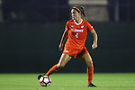 27 October 2016: Clemson's Katie Sprouse. The Duke University Blue Devils hosted the Clemson University Tigers at Koskinen Stadium in Durham, North Carolina in a 2016 NCAA Division I Women's Soccer match. Clemson won the game 1-0.