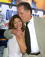 "©2003 KATHY HUTCHINS / HUTCHINS PHOTO.WORLD PREMIERE OF ""DICKIE ROBERTS:FORMER CHILD STAR"".BENEFITING THE CHRIS FARLEY FOUNDATION.CINERAMA DOME.LOS ANGELES, CA.SEPTEMBER 3, 2003..LAURA SAN GIACOMA.GEORGE SEGAL"