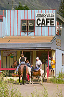 Jonesville cafe in Sutton, Alaska, on the Glenn Highway
