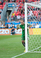 August 21 2010 Toronto FC goalkeeper Stefan Frei #24 in action during a game between DC United and Toronto FC at BMO Field in Toronto..DC United won 1-0.