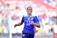 Nashville, Tenn. - March 6, 2016: The US Women's National team defeat France 1-0 in the 2016 SheBelieves Cup at Nissan Stadium.