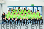 TY Active Leisure student group from Mercy Mounthawk are kitted out with the help of Una O'Mahony,Radar Sports Retail