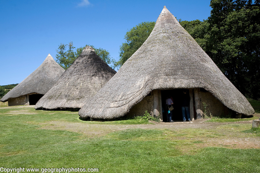 Castell Henllys Pembrokeshire Wales Geographyphotos