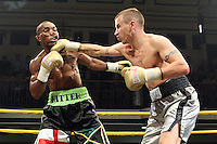 Junior Witter defeats Kevin McIntyre in Semi- Final 1 of Prizefighter The Welterweights II at York Hall, promoted by Matchroom Sports - 07/06/11 - MANDATORY CREDIT: Gavin Ellis/TGSPHOTO - Self billing applies where appropriate - Tel: 0845 094 6026