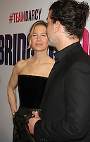 NEW YORK, NY-September 12:Renee Zellweger, Doyle Bramha ll at Universal Picture & Working Title Films present the American premiere of Bridget Jones Baby at the Paris Theatre in New York. September 12, 2016. Credit:RW/MediaPunch