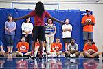 Chiney Ogwumike visits LA Advantage Basketball Camp