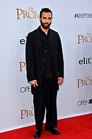 Marwan Kenzari at the premiere for &quot;The Promise&quot; at the TCL Chinese Theatre, Hollywood. Los Angeles, USA 12 April  2017<br /> Picture: Paul Smith/Featureflash/SilverHub 0208 004 5359 sales@silverhubmedia.com