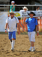 The Bird brothers. Trans-tasman rodeo at the Waimarino Showgrounds, Raetihi, New Zealand on Sunday, 20 March 2011. Photo: Dave Lintott / lintottphoto.co.nz