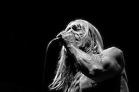 Headliner Iggy & The Stooges as the main attraction at the Open Flair Festival 2011 in Eschwege / Germany.  Foto Ruediger Knuth.