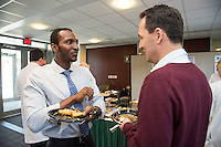 Akem Aziken, left, Peter Zvara, M.D., Ph.D. SURGERY SENIOR MAJOR SCIENTIFIC PROGRAM.