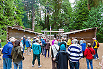Fort Clatsop was the winter encampment for the Lewis and Clark Expedition, known as the Corps of Discovery, from December 1805 to March 1806. The visitor center includes a replica of Fort Clatsop similar to the one built by the explorers, an interpretive center offering an exhibit hall, and gift shop. The center features ranger-led programs, costumed rangers in the fort and trailheads for the Fort To Sea Trail and Netul River Trail as well as restrooms and a picnic area.