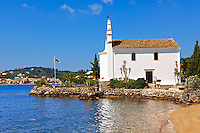 Greek Orthodox church of  Ipapandi,  Gouvia Bay, Corfu Greek Ionian Island