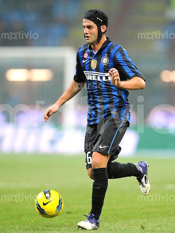 FUSSBALL INTERNATIONAL   SERIE A   SAISON 2011/2012    Inter Mailand - Udinese Calcio   03.12.2011 Cristian Chivu (Inter Mailand)