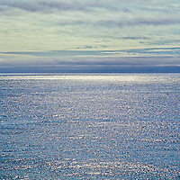 Blue Sparkle, Atlantic Ocean, Montauk, 2004, archival pigment on canvas, 40x40 edition of 12  $1800, print $1600