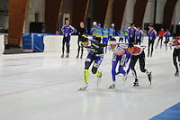 SCHAATSEN: LEEUWARDEN: 14-10-2015, Elfstedenhal, Training, ©foto Martin de Jong