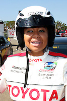 Raven-Symone  at  the 33rd Annual Toyota Pro/Celeb Race Press Day at the Grand Prix track in Long Beach, CA on April 7, 2009.©2009 Kathy Hutchins / Hutchins Photo....                .