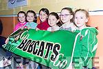 Bobcat's (Ballymac) supporters att the St Marys Christmas basketball blitz in Castleisland on Friday  l-r: Orla O'Connor, Maura Culloty, Niamh Rice, Aisling Bailey, Aoife Sweeney and Rachel Creedon