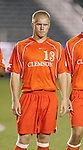 Clemson's Mark Buchholz on Wednesday, November 9th, 2005 at SAS Stadium in Cary, North Carolina. The Clemson Tigers defeated the University of Virginia Cavaliers 4-1 during their Atlantic Coast Conference Tournament Quarterfinal game.