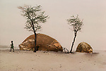 Sahel, Africa, Mali, 8/86, MALI-10056<br />