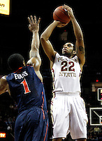 FSU-Virginia Mens' Basketball 2-12-11