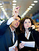 Digital. Barcelona-01/04/08- Barcelona Stock exchange. Two young Brokers  - (c) Vicens Gimenez....