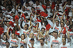 Ole Miss students cheer vs. Kentucky at the C.M. &quot;Tad&quot; Smith Coliseum on Tuesday, January 29, 2013. Kentucky won 87-74. (AP Photo/Oxford Eagle, Bruce Newman)..