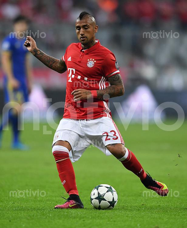 FUSSBALL CHAMPIONS LEAGUE SAISON 2016/2017 GRUPPENPHASE FC Bayern Muenchen  - FK Rostow              13.09.2016 Arturo Vidal (FC Bayern Muenchen)