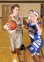 Guerin Girls Basketball Varsity vs. Evansville Memorial 12-15-12