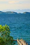 Flathead Lake in western Montana