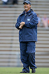 24 September 2015: UNC head coach Anson Dorrance. The University of North Carolina Tar Heels hosted the Syracuse University Orange at Fetzer Field in Chapel Hill, NC in a 2015 NCAA Division I Women's Soccer game. UNC won the game 3-1.