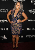 NEW YORK CITY, NY, USA - SEPTEMBER 18: Dascha Polanco arrives at the 2014 Icons Of Style Gala Hosted By Vanidades held at the Mandarin Oriental Hotel on September 18, 2014 in New York City, New York, United States. (Photo by Celebrity Monitor)