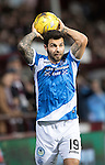 Hearts v St Johnstone&hellip;05.11.16  Tynecastle   SPFL<br />Richie Foster<br />Picture by Graeme Hart.<br />Copyright Perthshire Picture Agency<br />Tel: 01738 623350  Mobile: 07990 594431