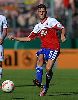 FUSSBALL  DFB POKAL        SAISON 2012/2013 SpVgg Unterchaching - 1. FC Koeln  18.08.2012 Daniel Hofstetter (Unterhaching)
