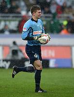 Fussball 1. Bundesliga :  Saison   2012/2013   9. Spieltag  27.10.2012 SpVgg Greuther Fuerth - SV Werder Bremen Torwart Max Gruen (Greuther Fuerth)