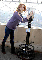 Marcia Cross visits The Empire State Building - New York City
