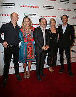 LOS ANGELES, CA - OCTOBER 03: J. K. Simmons, Maria Bello, Kevin Pollak, , Brittany Snow, Johnny Simmons attends the premiere of Momentum Pictures' 'The Late Bloomer' at iPic Theaters on October 3, 2016 in Los Angeles, California. (Credit: Parisa Afsahi/MediaPunch).