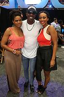 NEW ORLEANS, LA - JULY 2, 2016 Kimberly Elise, JB Smoove & Keri Hilson backstage at the Essence Festival, July 2, 2016 at The New Orleans Convention Center in New Orleans Louisiana. Photo Credit: Walik Goshorn / Media Punch