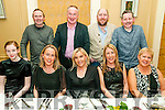 Listowel Badminton Party: Attending the Listowel Badminton Party at the Listowel Arms Hotel on Saturday nigh last were in front Marielle Murphy, Linda Flynn, Ester Cronin Galvin, Margaret Healy & Beatrice Heaphy. Back : Mark Loughlane, James Sheehan, Mike Moloney & Tom McElligott.