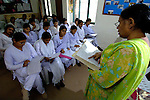 Midwives course at Talitha Kumi Center in Lahore, Pakistan. The Center is a project  of the Church of Pakistan.