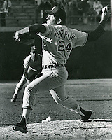 Chicago White Sox pitcher Dan ny Murphy pitching against the Oakland A's. (photo Ron Riesterer/photoshelter