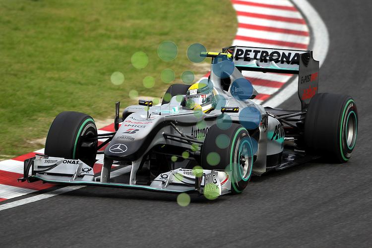 F1 GP of Japan, Suzuka  08.- 10. Okt. 2010.Nico Rosberg (GER), Mercedes GP ...Picture: Hasan Bratic/Universal News And Sport (Europe) 8 October 2010.