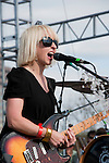Ritzy Bryan ofThe Joy Formidable at  Fun Fun Fun Fest at Auditorium Shores, Austin Texas, November 5, 2011.