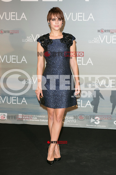 Aura Garrido attends Claudia&acute;s Llosa &quot;No Llores Vuela&quot; movie premiere at Callao Cinema, Madrid,  Spain. January 21, 2015.(ALTERPHOTOS/)Carlos Dafonte) /NortePhoto<br />