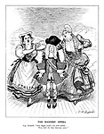 """The Baggers' Opera. Yugo Macheath. """"How happy could I be with neither were both the the dear charmers away!"""""""