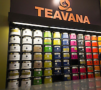 A Teavana store in the Upper East Side neighborhood of New York is seen on Friday, November 16, 2012. The coffee giant Starbucks is reported to be buying the Atlanta-based chain of tea stores for $620 million in cash.  (© Richard B. Levine)