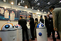 CMC Robot during a demonstration at the International Robot Exhibition in Tokyo on November 27, 2009. 200 robot companies and institutes exhibit their latest robot technologies during a four-day exhibition (photo Laurent Benchana/Nippon News).