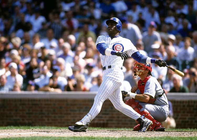 sammy sosa 199803jpg ron vesely stock baseball